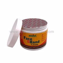 Picture of Face & Hand Cream with Cocoa Butter, Shea Butter, Olive Oil & Jojoba Oil - 4 oz