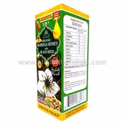 Picture of Organic Moringa Honey with Black Seed - 3 in 1