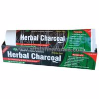 Picture of 6 Pieces - Herbal Charcoal Toothpaste w/ Xylitol 7 in 1 [Fluoride Free] [6.5 oz]