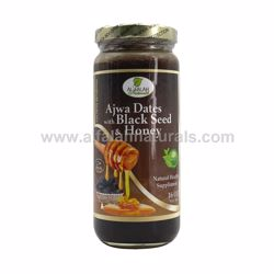 Picture of Ajwa Dates with Black Seed & Honey - 16 OZ