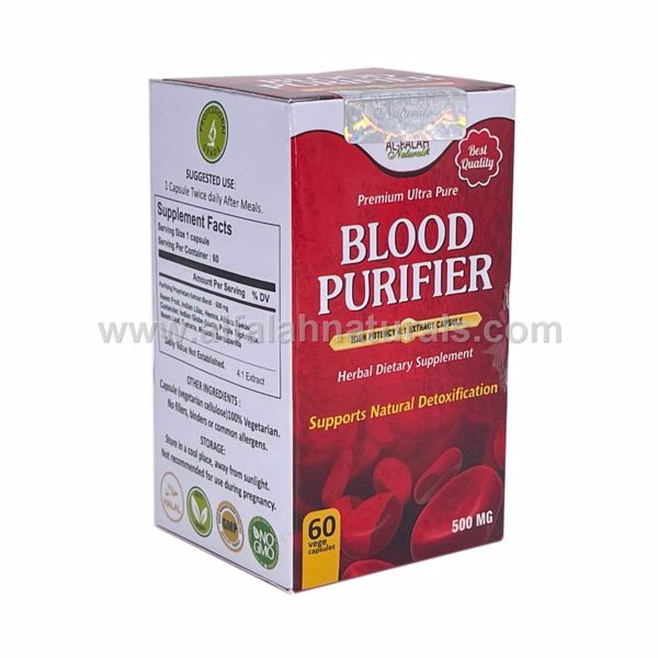 Picture of Blood Purifier 4:1 Premium Extract 500mg [60 Vegetarian/Halal Capsules]