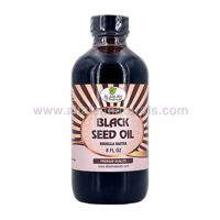 Picture of Black Seed Oil - 8 FL OZ - 100% Virgin Cold Pressed - Unfiltered / Unrefined