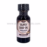 Picture of Black Seed Oil - 1/2 FL OZ - 100% Virgin Cold Pressed - Unfiltered / Unrefined