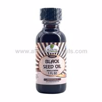 Picture of Black Seed Oil - 1 FL OZ - 100% Virgin Cold Pressed - Unfiltered / Unrefined