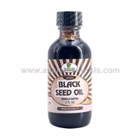 Picture of Black Seed Oil - 2 FL OZ - 100% Virgin Cold Pressed - Unfiltered / Unrefined