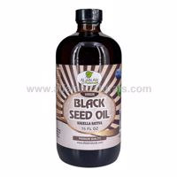 Picture of Black Seed Oil - 16 FL OZ - 100% Virgin Cold Pressed - Unfiltered / Unrefined