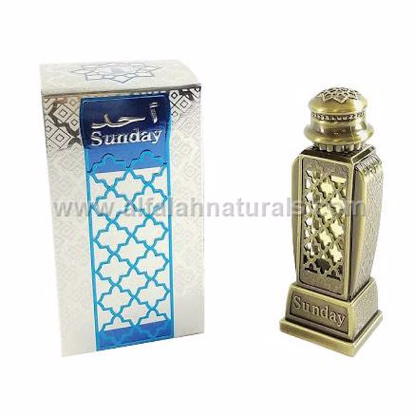 Picture of Sunday 15 ML - Concentracted Non Alcoholic Fragrance Oil by Al-Haramain Dubai