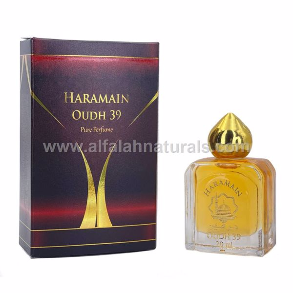 Picture of Haramain Oudh 39- Pure perfume - 20 ml with Rollon - By Haramain